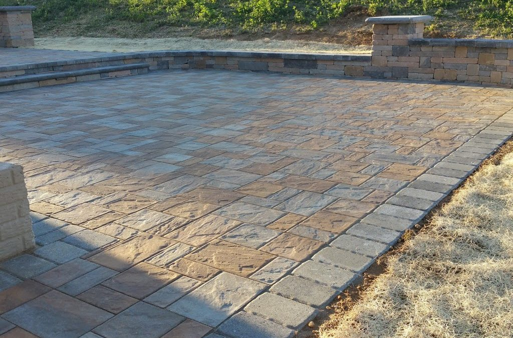 Ledgestone Patio in Ellicott City