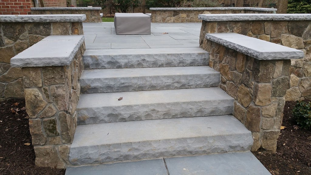 Custom Stonework Project in Ellicott City