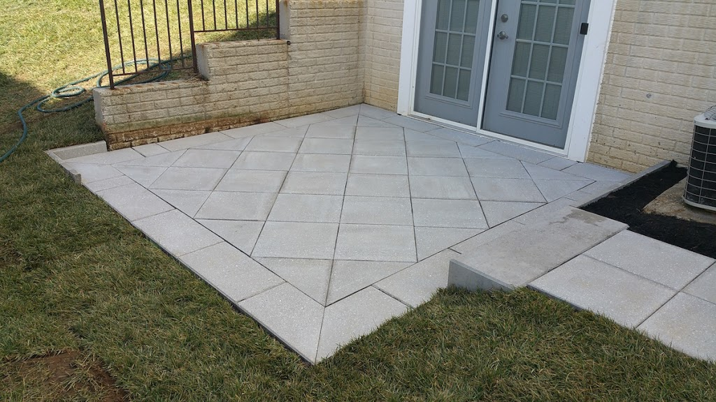 Tudor Finish Patio Slabs