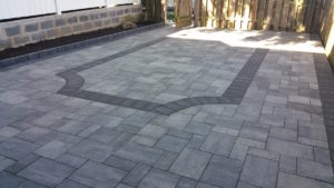 Townhome Patio in Arbutus, MD   Life Time Pavers